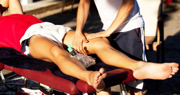 Sportmassage in Wien und Baden